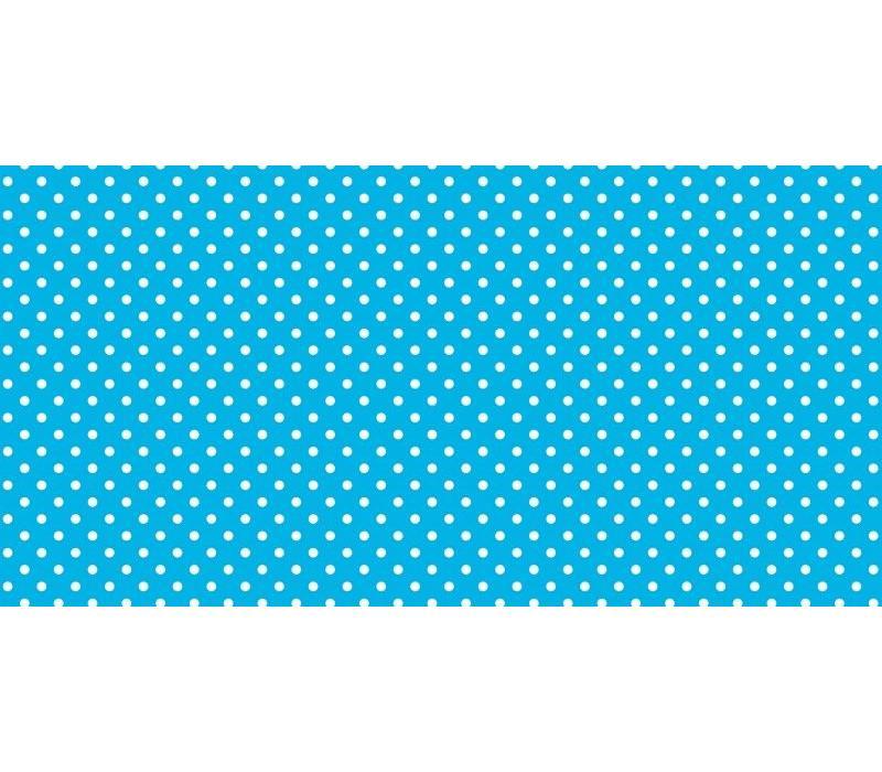 Fadeless Paper 4ft x 12 ft - Classic Dots Aqua *