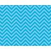 PACON Fadeless Paper 4ft x 12 ft - Chic Chevron Aqua *