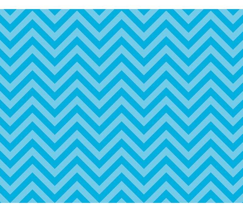 Fadeless Paper 4ft x 12 ft - Chic Chevron Aqua *
