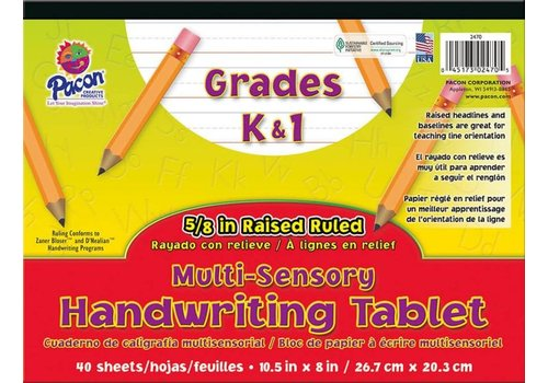 PACON Multi-Sensory Handwriting Tablet K&1