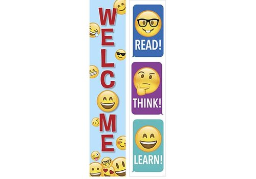 Creative Teaching Press Emoji Welcome Banner