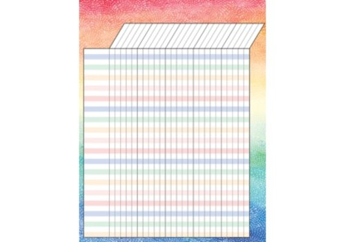 Teacher Created Resources Watercolour Incentive Chart*