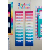 Watercolor File Storage - 10 Pockets*