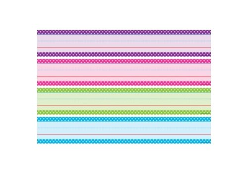 Teacher Created Resources Sentence Strips - Bright Color Polka Dots (D) *