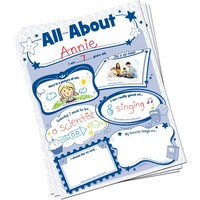 All About Me Poster Pack, 32 posters *