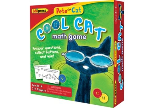 Teacher Created Resources Pete the Cat Cool Cat Math Game, Grade K