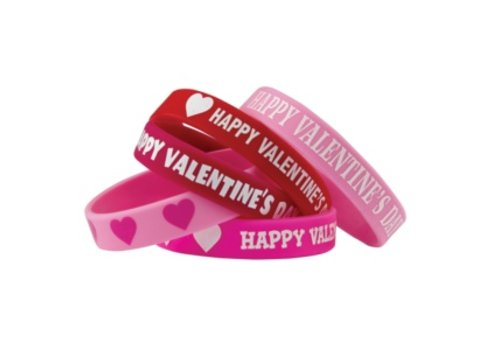 Teacher Created Resources Happy Valentine's Day Bracelets, 10 pack