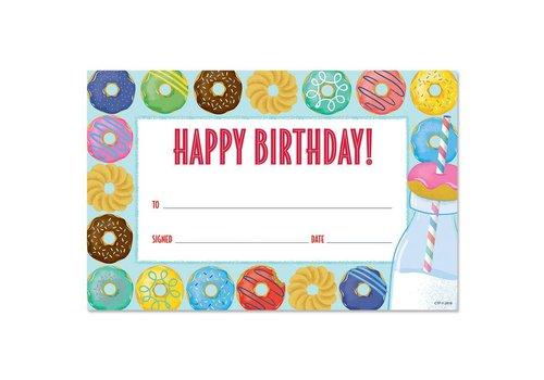Creative Teaching Press Happy Birthday Donut Award