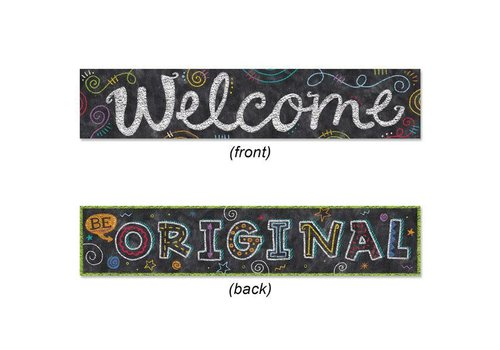 Creative Teaching Press Chalk It Up! Welcome Banner