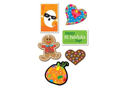 Creative Teaching Press Holiday Variety Pack Stickers
