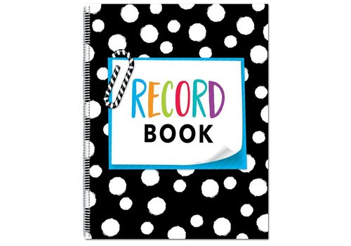 Creative Teaching Press Record Book, Bold & Bright