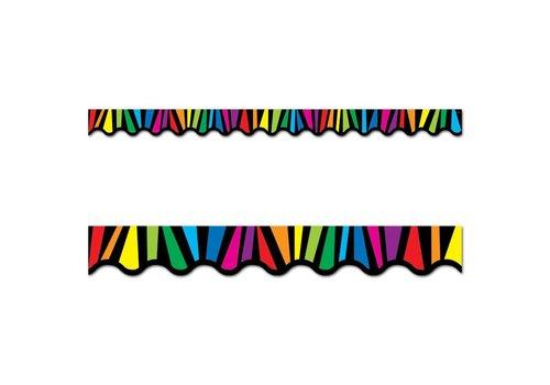 Creative Teaching Press Rainbow Stripes Border