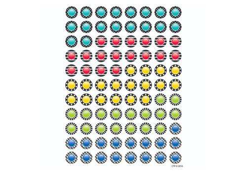 Creative Teaching Press DAZZLING DOTS INCENTIVE CHART STICKERS *