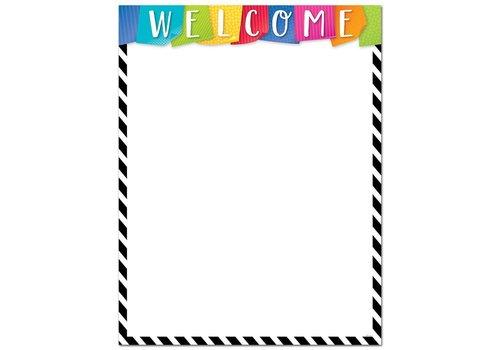 Creative Teaching Press Bright & Bold Welcome Chart