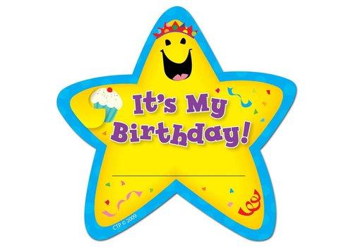 Creative Teaching Press It's My Birthday! Star Badges
