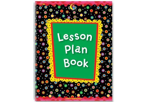 Creative Teaching Press Poppin' Patterns Lesson Plan Book