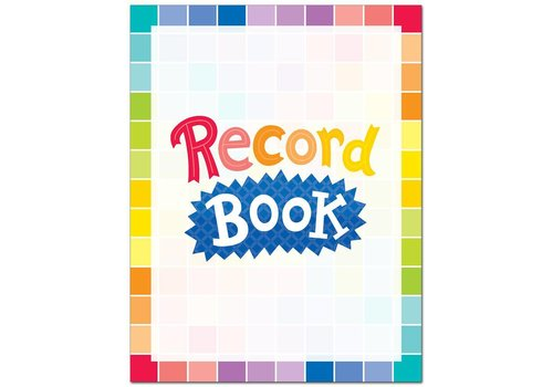 Creative Teaching Press Painted Palette Record Book