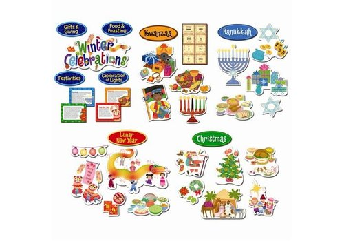 Creative Teaching Press Winter Celebrations Bulletin Board Set