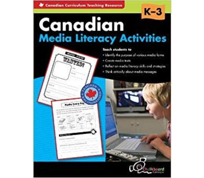 Canadian Media Literacy, K-3
