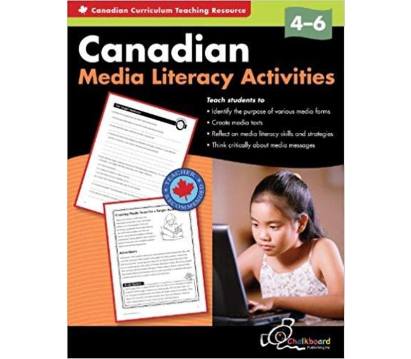 Canadian Media Literacy, 4-6 *
