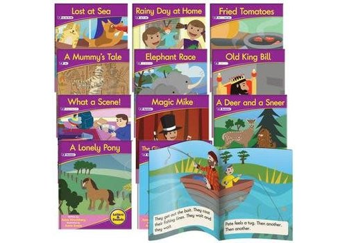 JUNIOR LEARNING Phonics Fiction Readers: Letters & Sounds  (Reading Level 14-18)