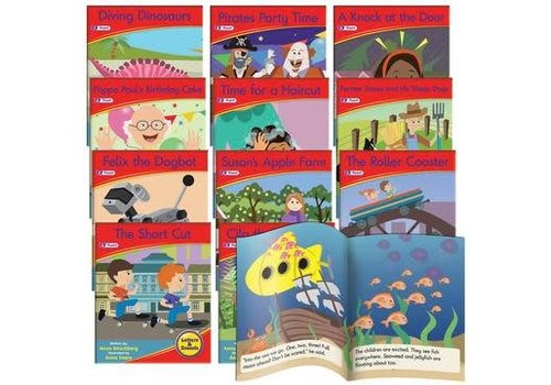 JUNIOR LEARNING Phonics Fiction Readers: Letters & Sounds  (Reading Level 16-20)