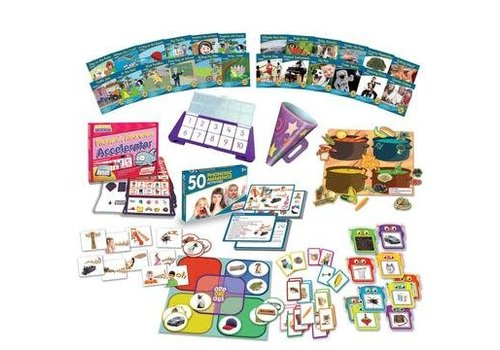 JUNIOR LEARNING Common Core: Phonemic Awareness Kit