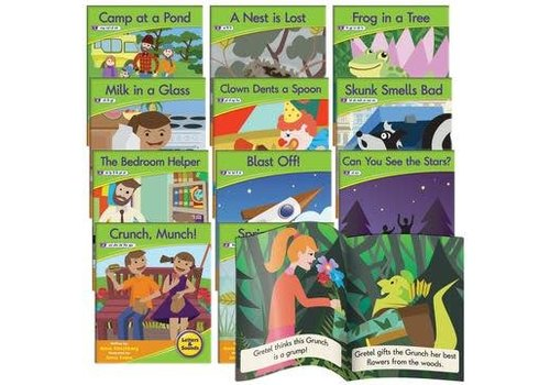 JUNIOR LEARNING Phonics Fiction Readers: Letters & Sounds  (Reading Level 3-8)