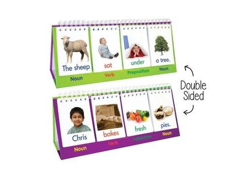 JUNIOR LEARNING Double-Sided Sentence Flips to Build Words & Sentences *