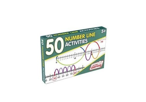 JUNIOR LEARNING 50 Number Line Activity Cards