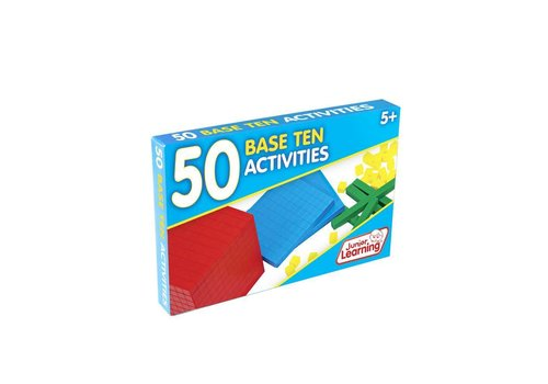 JUNIOR LEARNING 50 Base Ten Activity Cards