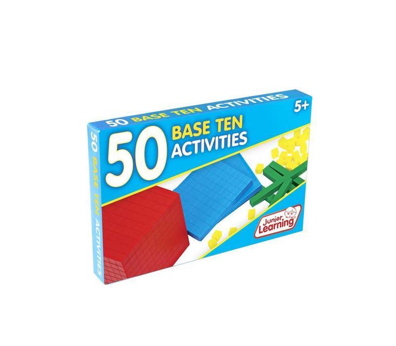 50 Base Ten Activity Cards *