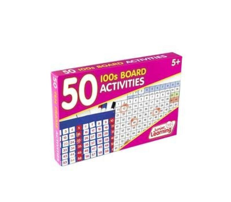 50 100's Board Activity Cards *