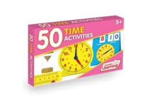 JUNIOR LEARNING 50 Time Activities Cards