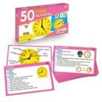 50 Time Activities Cards *