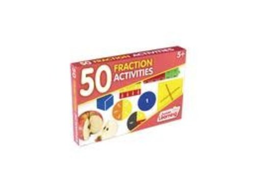 JUNIOR LEARNING 50 Fraction Activity Cards