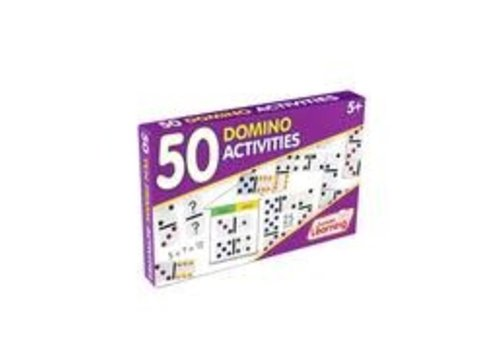 JUNIOR LEARNING 50 Domino Activity Cards