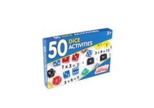 JUNIOR LEARNING 50 Dice Activity Cards