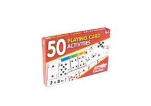 JUNIOR LEARNING 50 Playing Card Activity Cards