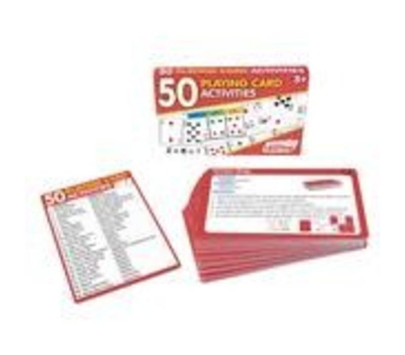 50 Playing Card Activity Cards *