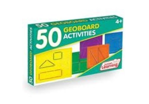 JUNIOR LEARNING 50 Geoboard Activity Cards