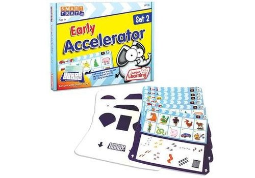 JUNIOR LEARNING Early Accelerator Cards Set 2 for Smart Tray *