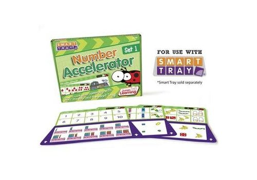 JUNIOR LEARNING Number Accelerator Cards Set 1 for Smart Tray