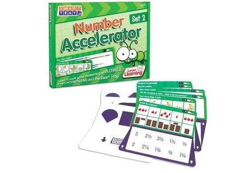 JUNIOR LEARNING Number Accelerator Cards Set 2 for Smart Tray *