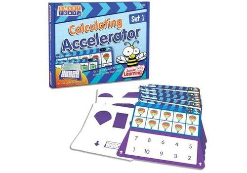 JUNIOR LEARNING Calculating Accelerator Cards Set 1 for Smart Tray *