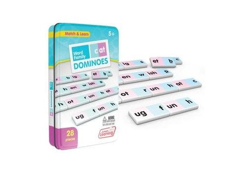JUNIOR LEARNING Word Family Dominoes