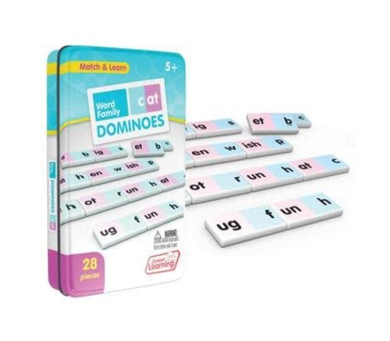 Word Family Dominoes *