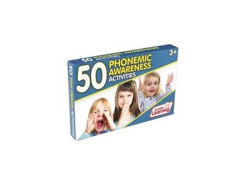 JUNIOR LEARNING 50 Phonemic Awareness Activity Cards