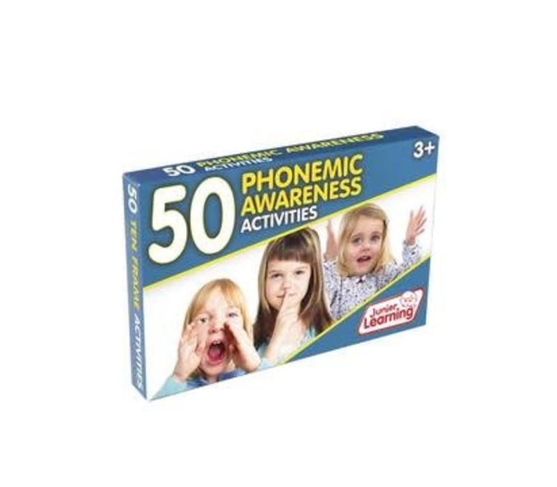 50 Phonemic Awareness Activity Cards *