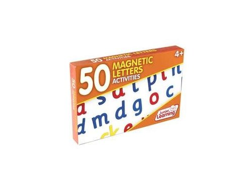 JUNIOR LEARNING 50 Magnetic Letters Activity Cards
